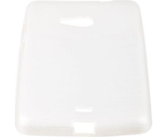 Forcell Jelly Brush Перламутровый Силиконовы Чехол Microsoft 535 Lumia Белый