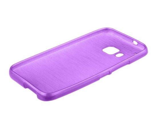 Forcell Jelly Brush Perlamutra telefona silikona apvalks HTC One M9 Violets