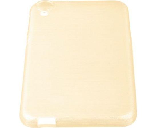 Forcell Jelly Brush Перламутровый Силиконовы Чехол HTC Desire 820 Золотистый