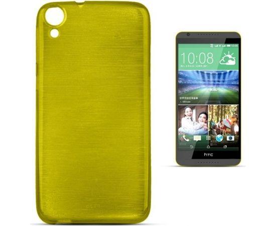 Forcell Jelly Brush Перламутровый Силиконовы Чехол HTC Desire 820 Зеленый