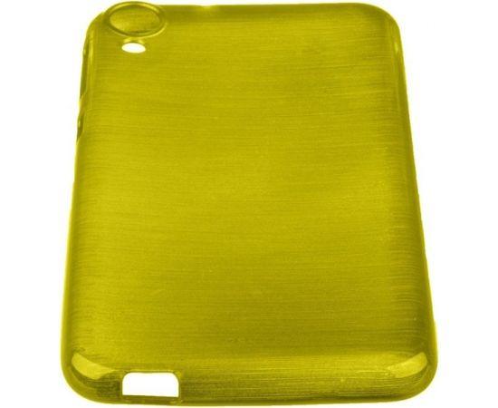 Forcell Jelly Brush Perlamutra telefona silikona apvalks HTC Desire 820 Zaļš
