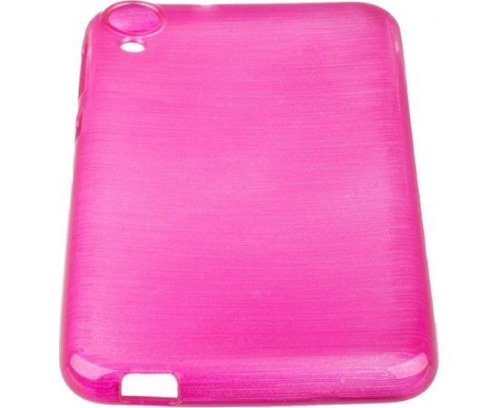 Forcell Jelly Brush Perlamutra telefona silikona apvalks HTC Desire 820 Rozā