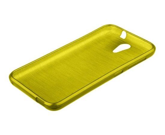 Forcell Jelly Brush Perlamutra telefona silikona apvalks HTC Desire 620 Zaļš