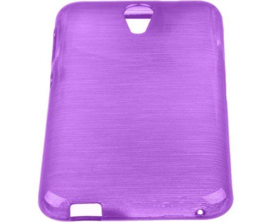 Forcell Jelly Brush Perlamutra telefona silikona apvalks HTC Desire 620 Violets