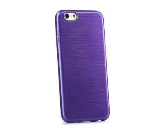 Forcell Jelly Brush Perlamutra telefona silikona apvalks Samsung A500 Galaxy A5 Violets