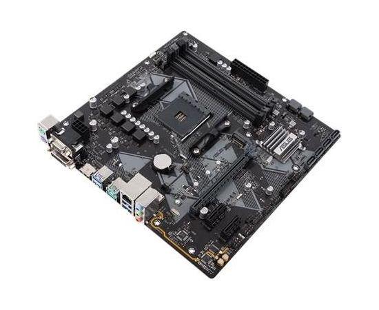ASUS PRIME B450M-A, AM4, 4*DDR4, VGA/DVI/HDMI, mATX