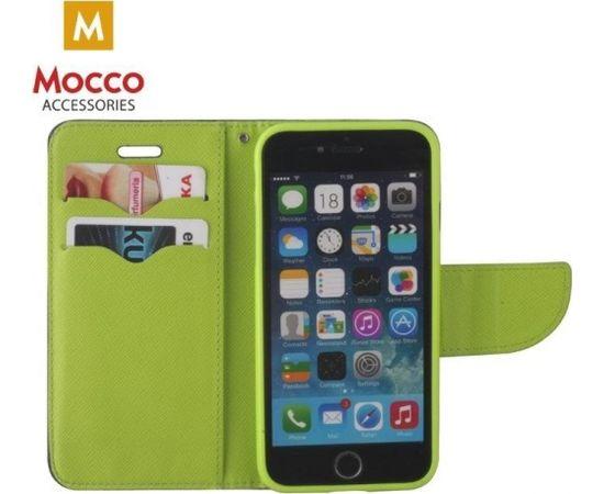 Mocco Fancy Book Case Grāmatveida Maks Telefonam Sony Xperia XA1 Plus Zils / Zaļš