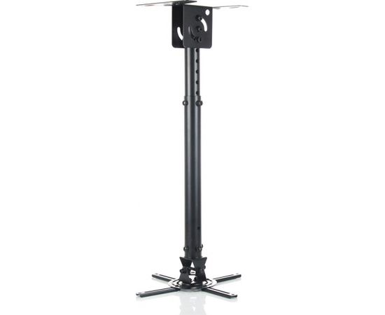 ART Holder P-107B, 47-76cm to projector black| 15KG Mounting to the ceiling
