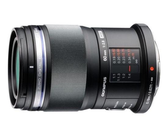 Olympus M.Zuiko Digital ED 60mm f/2.8 Macro objektīvs