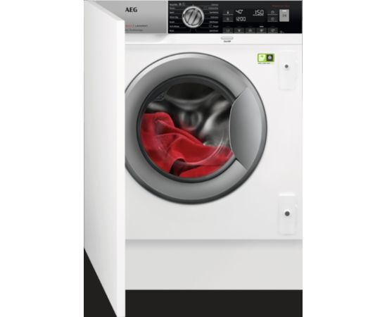 AEG L8FBE48SI veļas mazg. mašīna, iebūvējama