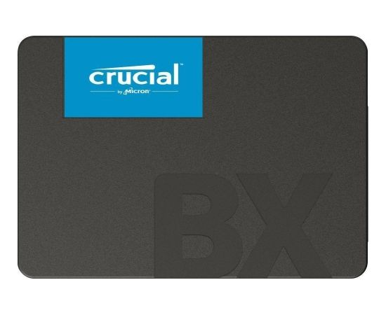 SSD | CRUCIAL | BX500 | 120GB | SATA 3.0 | Write speed 500 MBytes/sec | Read speed 540 MBytes/sec | 2,5"
