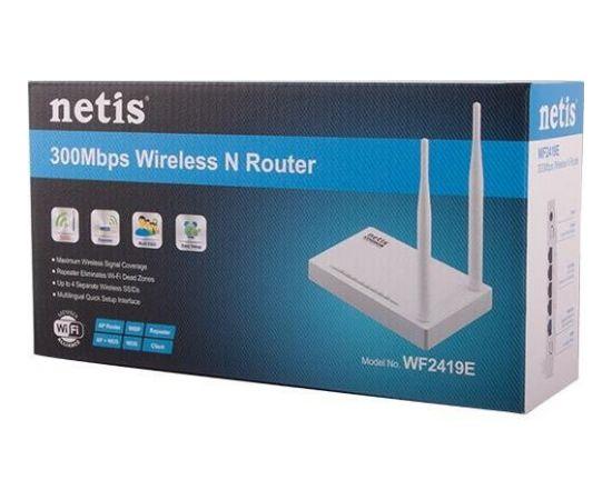 Netis Router WIFI G/N300 + LAN x4, 2x Antena 5 dBi