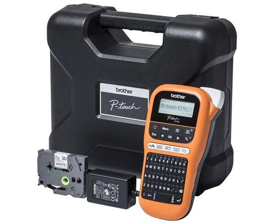 Brother Industrial durable label maker PTE110VP Orange