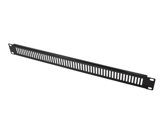LOGILINK- 19'' Ventilated Blank Panel 1U, black