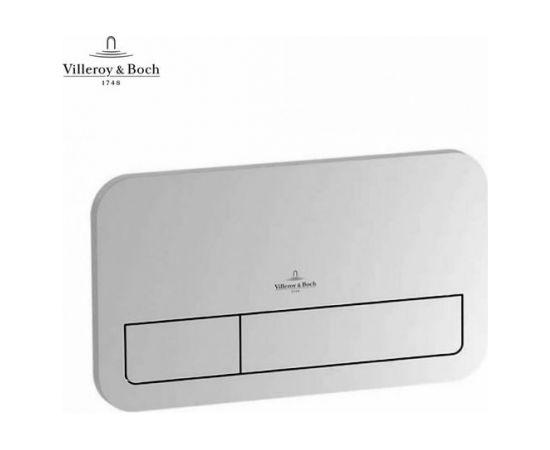 Villeroy & Boch taustiņš ViConnect E200, 253x145 mm, hroms