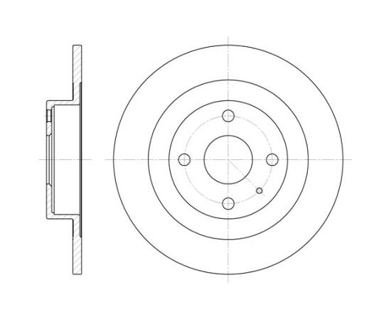 Remsa Bremžu disks 6833.00