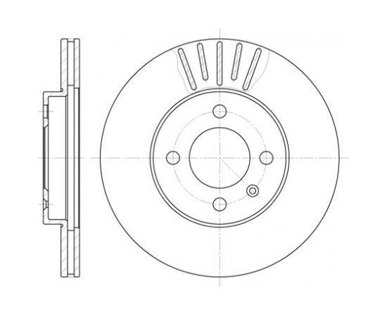 Remsa Bremžu disks 6175.10