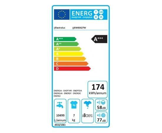 Electrolux EW6S427W veļas mašīna A+++ 7kg 1200apgr.