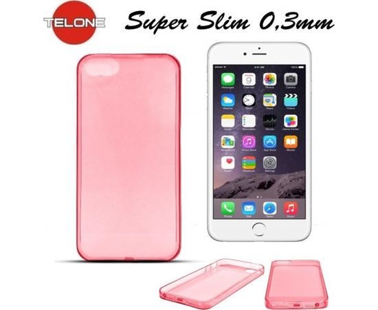 Telone Ultra Slim 0.3mm Back Case Apple iPhone 6 4.7inch super plāns telefona apvalks Koraļu