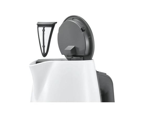 Bosch TWK6A011 tējkanna Balta 1.7L
