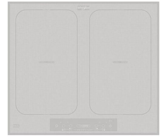 WHIRLPOOL ACM828BAWH ndukcijas plīts virsma, 58cm, balta, Flexi