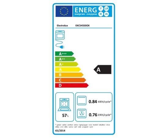 ELECTROLUX EKC54550OX Elektriskā plīts 50cm