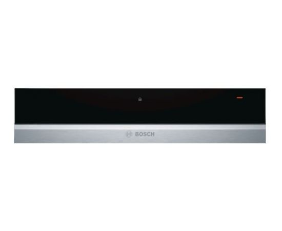 BOSCH BIC630NS1 sildīšanas atvilktne, 14cm, melna/nerūs. tērauda