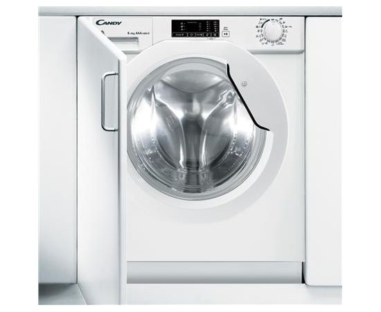 Candy CBWD 8514D-S 8kg, Drying 5kg, 1400 RPM, White, Display