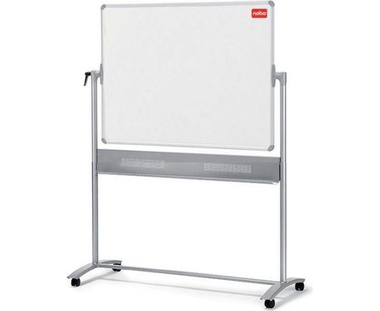Esselte Abpusēja grozāma magnētiskā tāfele NOBO CLASSIC 150 x 120 cm, mobilais statīvs, baltā krāsa