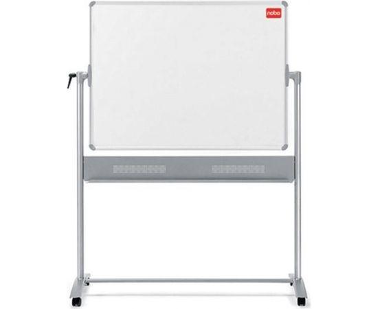 Esselte Abpusēja magnētiska tāfele NOBO Prestige, grozāma, 120 x 150 cm, emaljēta virsma, baltā krāsā