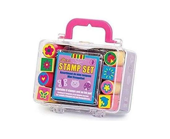 Key Craft Kids Krafts Art.ST18 Bērnu rotaļlieta zīmogs  ar tintēm 8 gab.