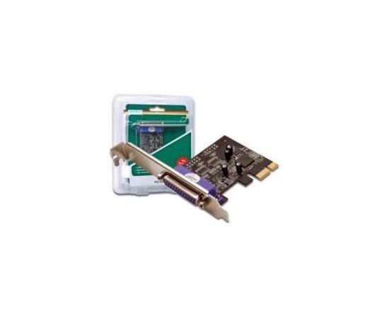 DIGITUS Add-On Card LPT PCI Express, 1xDB25, Low Profile, Chip: MCS9901