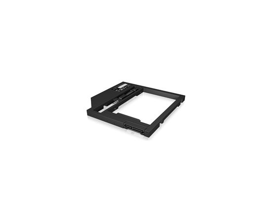 Raidsonic Adapter for a 2.5'' HDD/SSD in notebook DVD bay ICY BOX IB-AC649