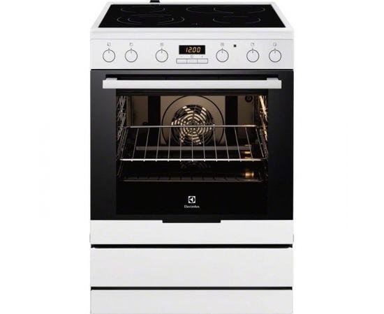 Electrolux EKC6450AOW Отдельностоящий Electric hob Белый кухонная плита