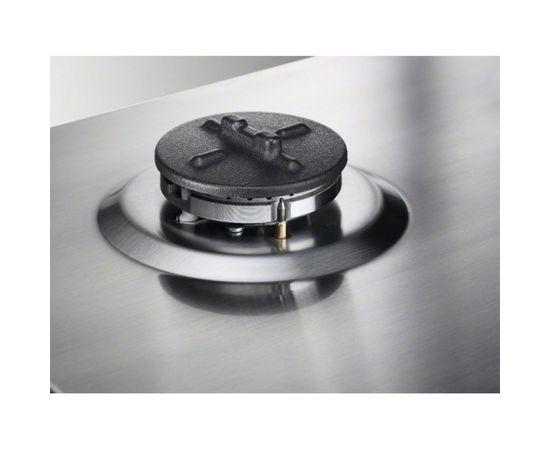 ELECTROLUX EGS6648NOX gāzes plīts virsma, 60cm, nerūsējošs tērauds