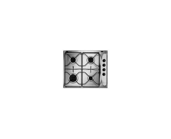 Whirlpool AKM260IX Настольный Газ Cеребряный плита