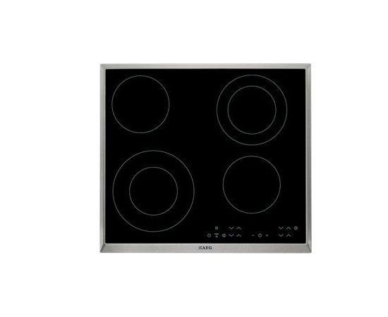 AEG HK634021XB Встроенный Электрический Черный плита