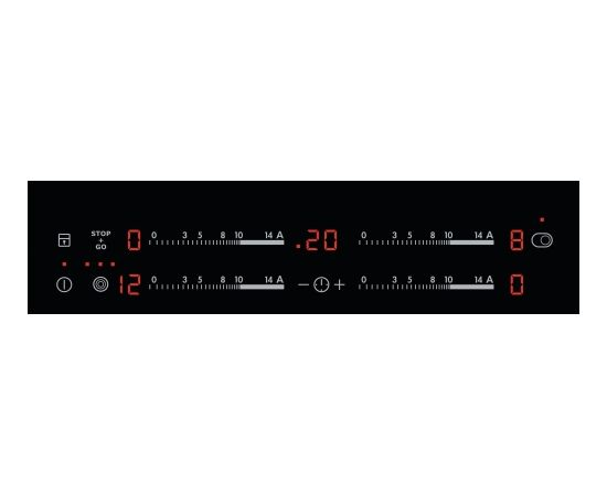 AEG HK654070IB Встроенный   Черный