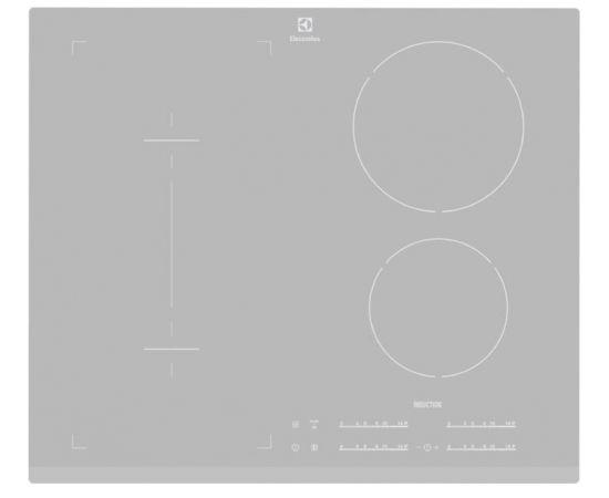 Electrolux EHI6540FOS Встроенный   Cеребряный плита