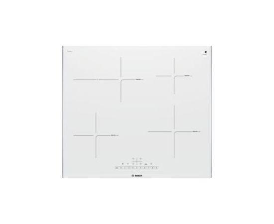 BOSCH PIF672FB1E indukcijas virsma, 60cm, Comfort, balta, inox ietvars