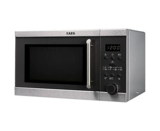 AEG MFD2025S-M Настольный 20л 800Вт Черный, Нержавеющая сталь микроволновая печь
