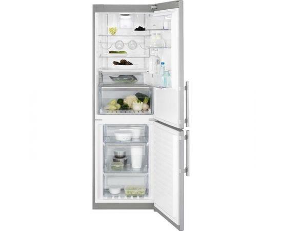 Electrolux EN3486MOX Отдельностоящий 220л 92л A++ Нержавеющая сталь холодильник с морозильной камерой