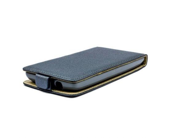 Telone Shine Pocket Slim Flip Case Samsung i9500 Galaxy S4 telefona maks vertikāli atverams Pelēks