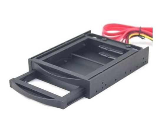 "HDD/SSD ACC MOBILE RACK 3.5""/2X2.5"" MR3-2SATA2.5-01 GEMBIRD"