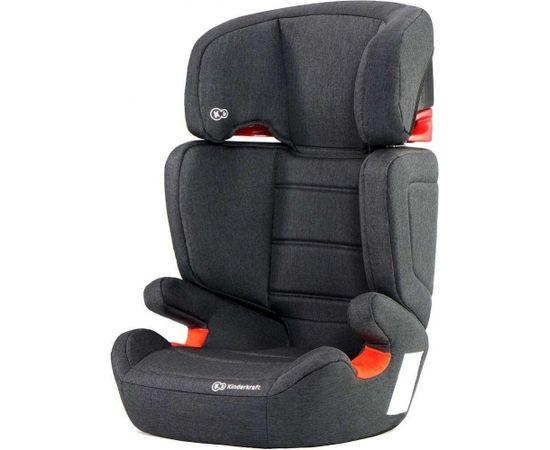 Kinder Kraft KinderKraft'19 Junior Fix Art. KKFJUFIBLK0000 Black Bērnu autokrēsls (15-36 kg)