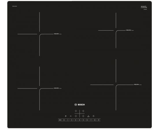 BOSCH PUE611FB1E Indukcijas virsma, 60cm, iebūvējama
