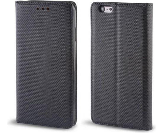 TakeMe Magnēstikas Fiksācijas Sāniski atverams maks bez klipša Samsung Galaxy A750 Galaxy A7 (2018) Melns