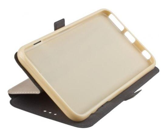 TakeMe Супер тонкий Чехол-книжка со стендом Xiaomi Mi Max 3 Золотистый