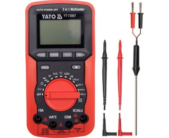 Testeris Yato 5in1 (YT-73087)