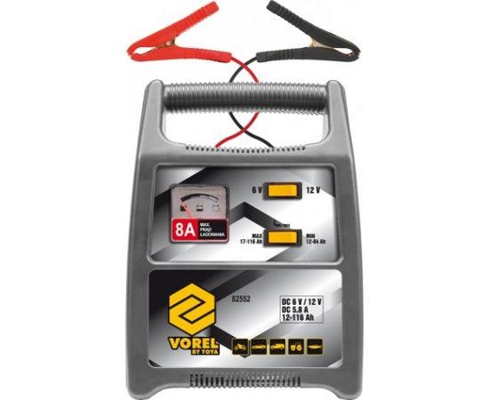 Akumulatoru lādētājs Vorel 6/12V 8A 116Ah (82552)